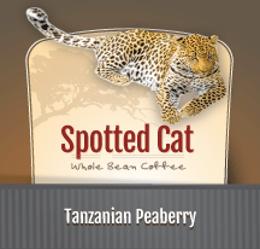 Zawadee Spotted Cat Tanzanian Peaberry