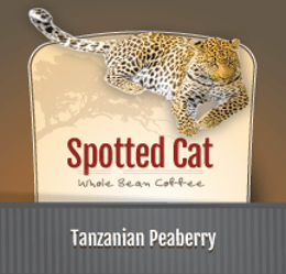 Zawadee Spotted Cat Tanzanian Peaberry | 16oz