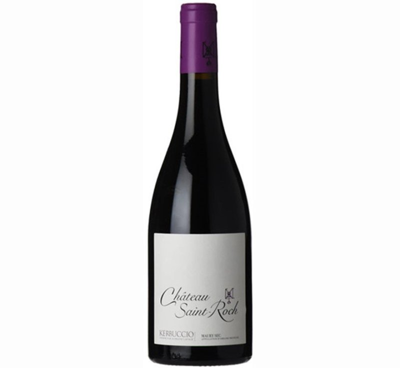 Saint-Roch Maury Sec Kerbuccio 2014 | 93WA | Every Day Dinner Wine | Pairs with Beef, Veal, Pasta | Drink 60-65°F | Drink now thru 2024 | Red Blend | Grenache · Carignan · Mourvedre | Roussillon, France