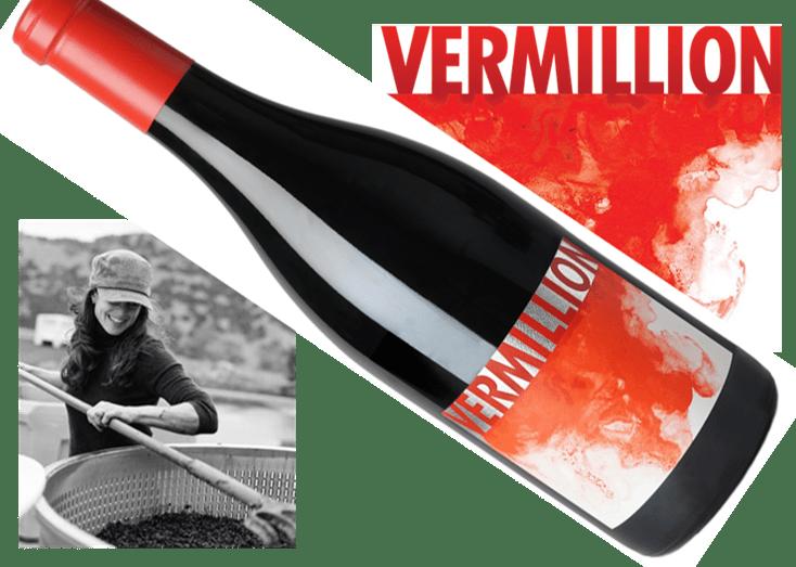 Vermillion Red Blend 2015