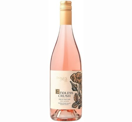 Inman Family Endless Crush Rose of Pinot Noir 2017 | #13 Best Rosé Wines of 2018 | Pairs w/White Meat, Fish, Comfort foods, Cheese | Serve 50-55°F | Drink now thru 2021 | 94WE | Rose Wine | Pinot Noir | Russian River, Sonoma County, California | Winemaker Kathleen Inman