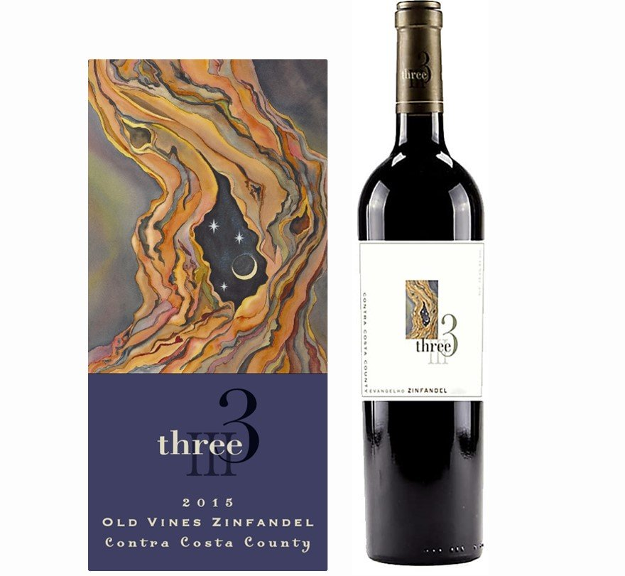 Three Wine Company Evangelho Zinfandel 2015