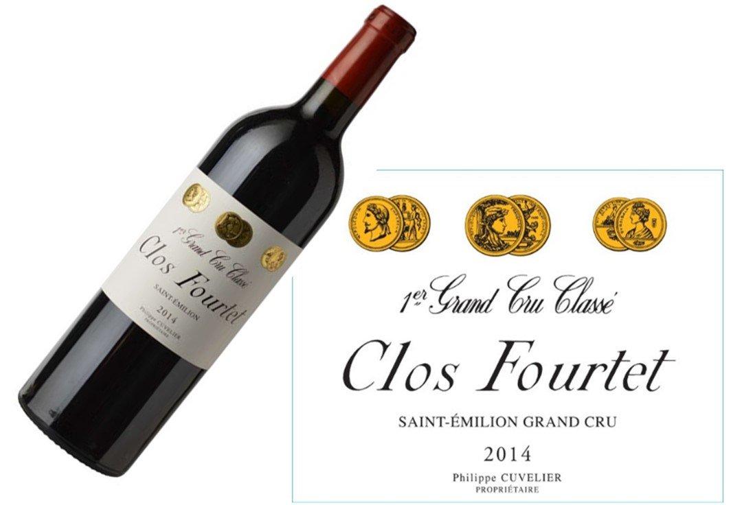Clos Fourtet Saint-Émilion 2014 | 1.5L