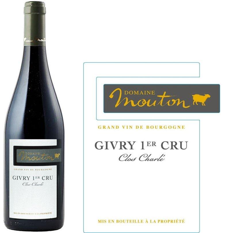 Domaine Mouton Givry 1er Cru Clos Charlé 2014