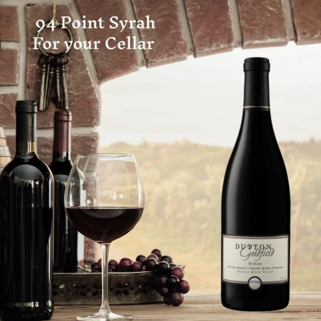 Dutton-Goldfield Cherry Ridge Vineyard Syrah 2014