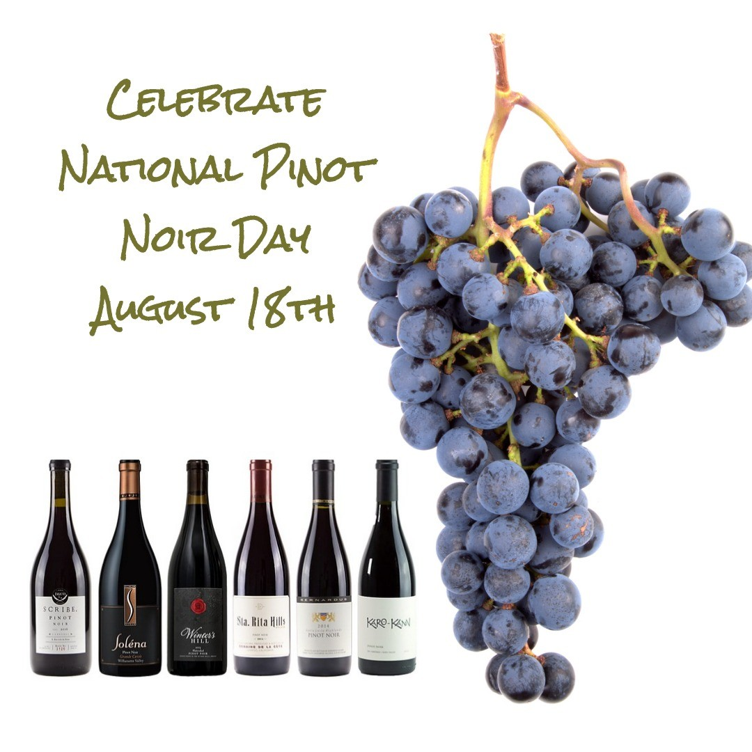 National Pinot Noir Day Wine Set