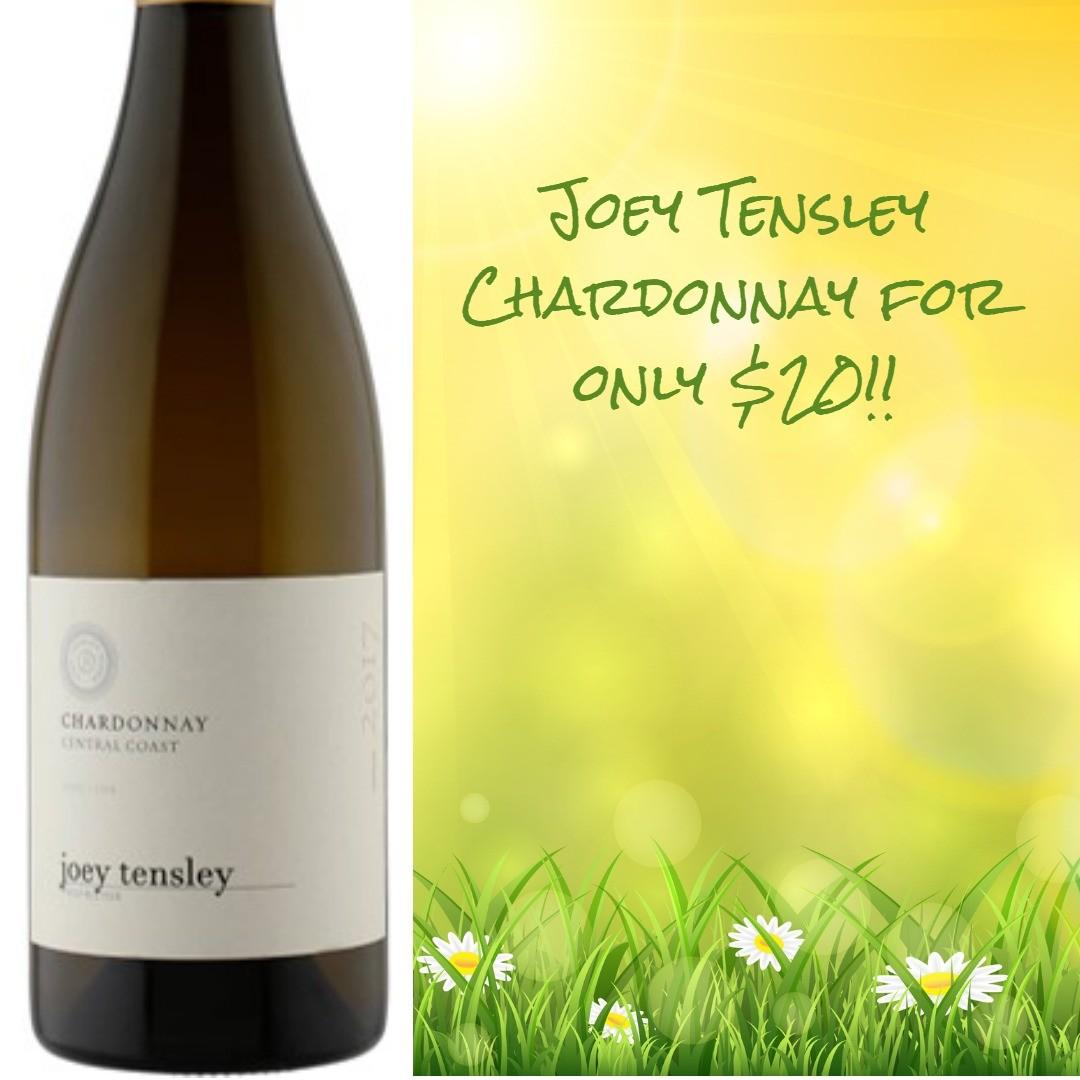 Joey Tensley Chardonnay 2017