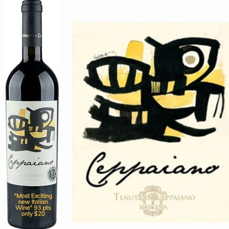 Tenuta di Ceppaiano Violetta 2012 | Velvety & Flavorful | Pairs w/Red Meat, Hard Cheese | Serve 60-65°F | Drink now thru 2021 | 93WA | Red Blend | Sangiovese · Cabernet | Tuscany, Italy