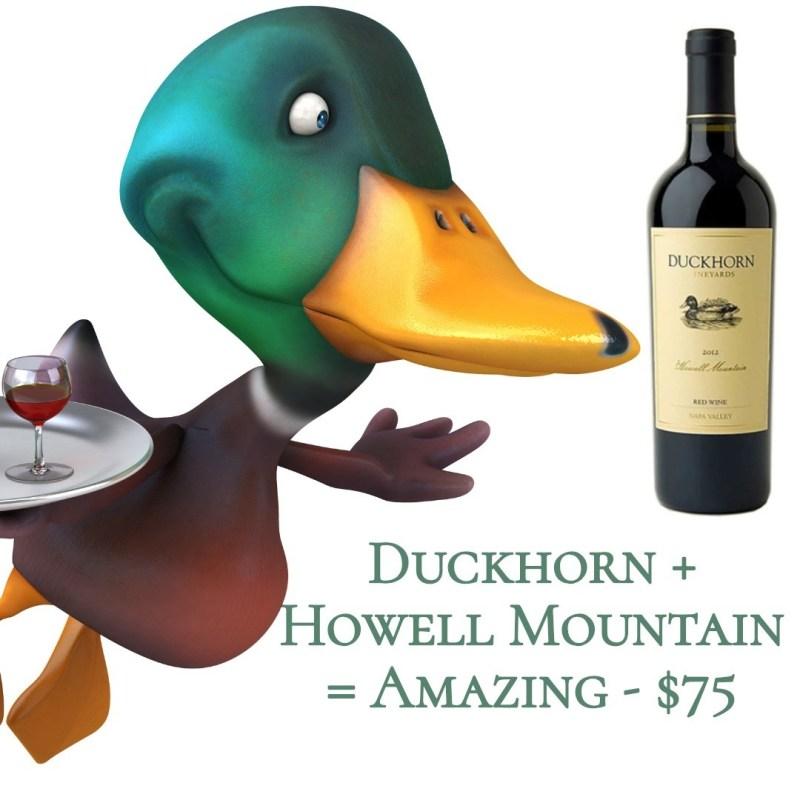 Duckhorn Howell Mountain Red 2012