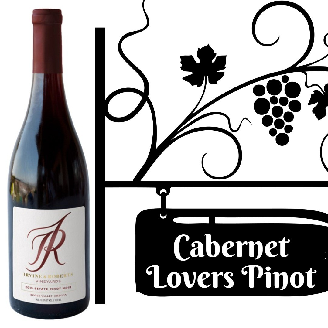 Irvine & Roberts Vineyards Pinot Noir 2015