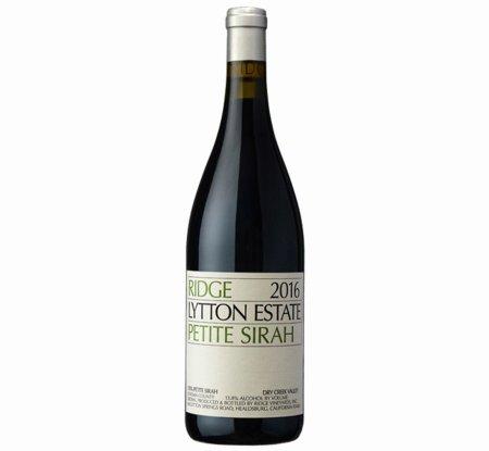 Ridge Lytton Estate Petite Sirah 2016