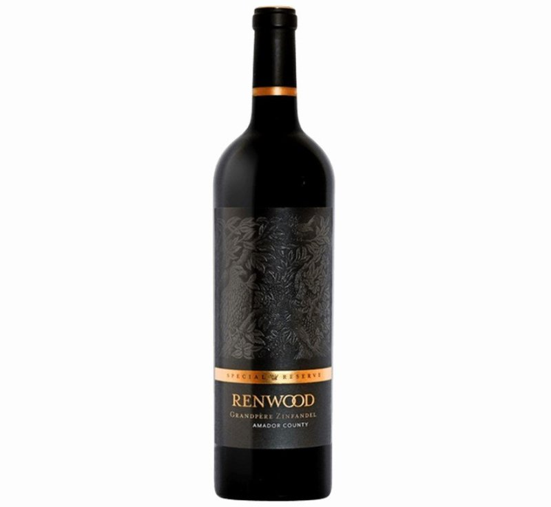 Renwood Special Reserve Grandpère Zinfandel 2016