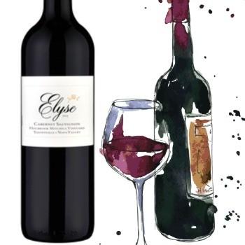 Elyse Holbrook Mitchell Vineyard Cabernet Sauvignon 2014