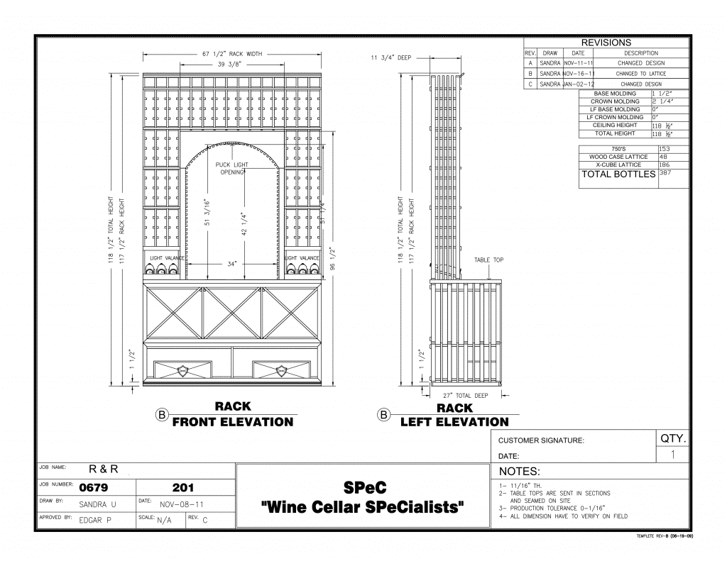 New Residential Custom Wine Cellars Atlanta Georgia
