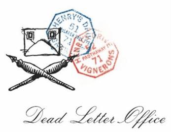 Henry's Drive Dead Letter Office Shiraz