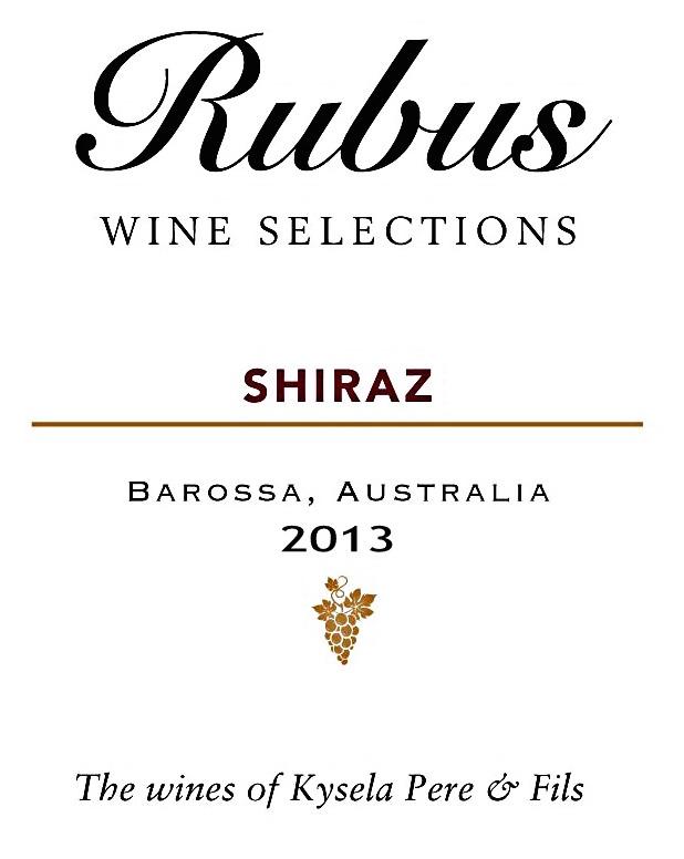 Rubus Shiraz 2012