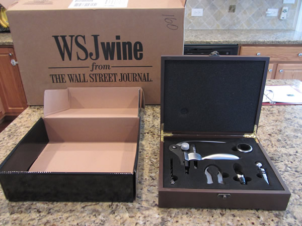 WSJ Wine Free Gift