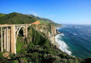 Highway 1 bridge