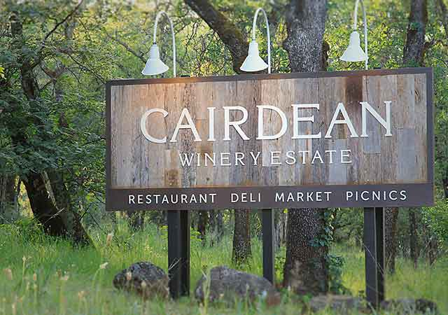 Cairdean Estate is currently  constructing a event center and blah.