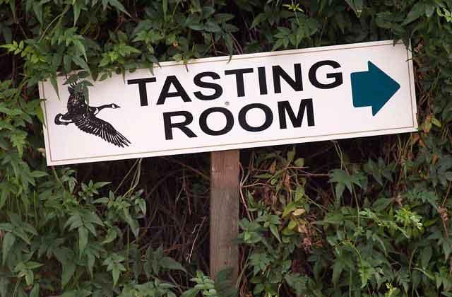 goosecross tasting room