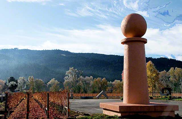 art in wine country