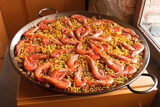 paella fideo