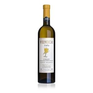 """Collio DOC Pinot Bianco """"Tàlis"""" 2019 – Venica & Venica"""