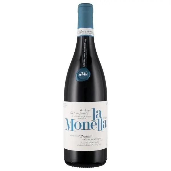 """Barbera del Monferrato Frizzante DOC """"La Monella"""" 2019 - Braida"""
