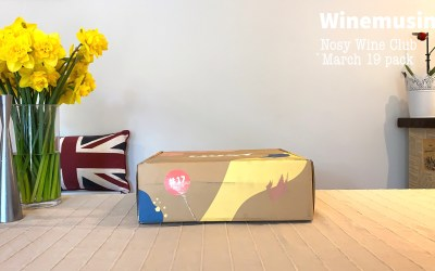Unboxing Nosy Wine Club box March 2019