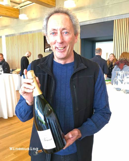 organic champagne winemaker Pascal Doquet
