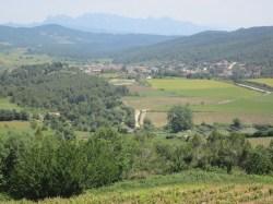 wine pleasures view of la llacuna