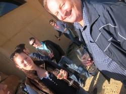 Barry  Savage at Wine Pleasures BMIC 2011