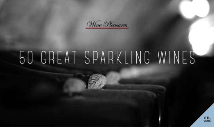 Front Cover 50 Great Sparkling Wines of the World 2016