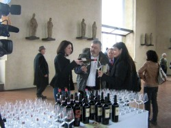 La Stricia present at Wine Pleasures Workshop