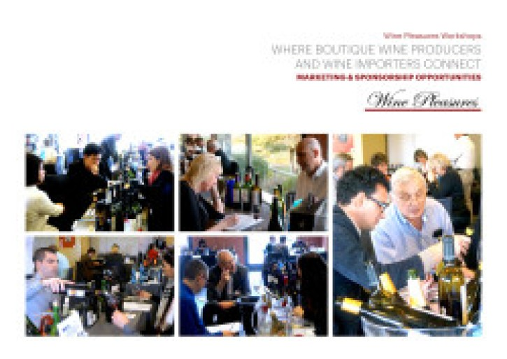 Wine Pleasures B2B Sponsorship Opportunities