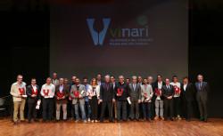 09.10.2015, Vilafranca del Penedès Gala de lliurament dels Premis Vinari 2015 a l'Auditori Municipal. foto: Vinari/Jordi Play