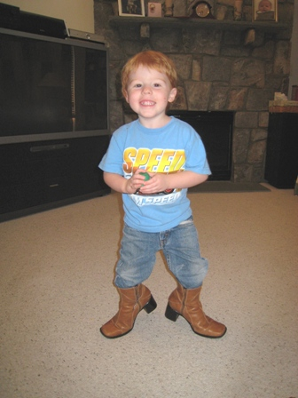 Gavin and the Boots