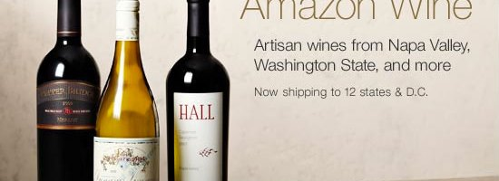 Amazon Launches Online Wine Marketplace