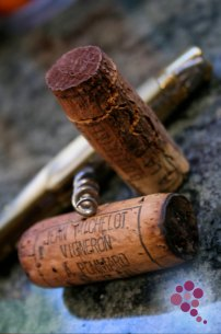 Recorking Wine