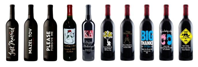 Wine Label Samples – Personalized