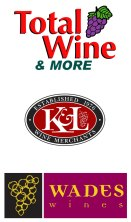Total Wine & More / K&L Wine Merchants / Wade's Wines