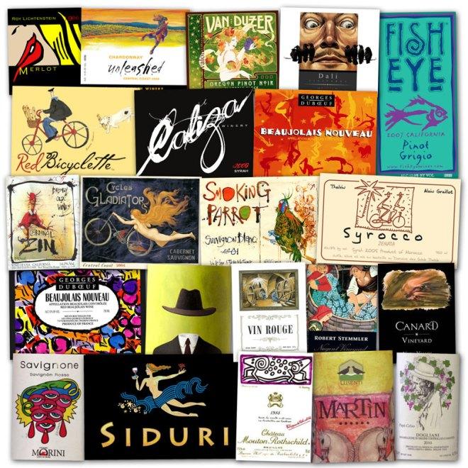 Wine Label Clichés – Artsy Fartsy