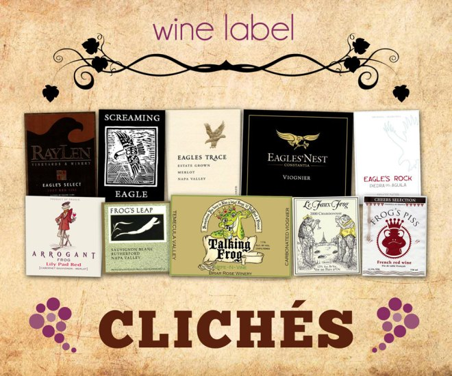 Wine Label Clichés