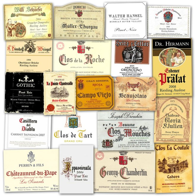 Wine Label Clichés – Germanic & Gothic Lettering