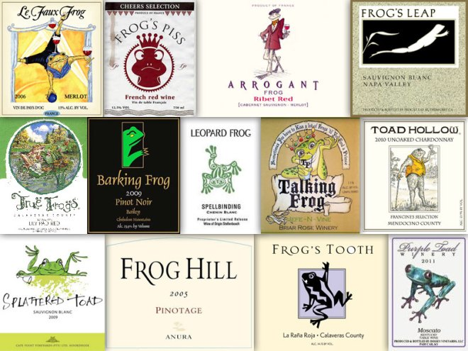 Wine With An Animal In The Name – Frog & Toad