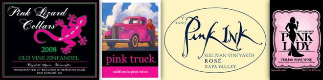 Wine With A Color In The Name – Pink