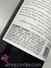 Wine Label – Government Warning