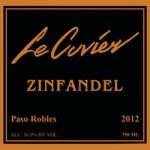 Le Cuvier Winery – Zinfandel 2012