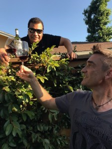 Fence Wine – Rick & Laurent