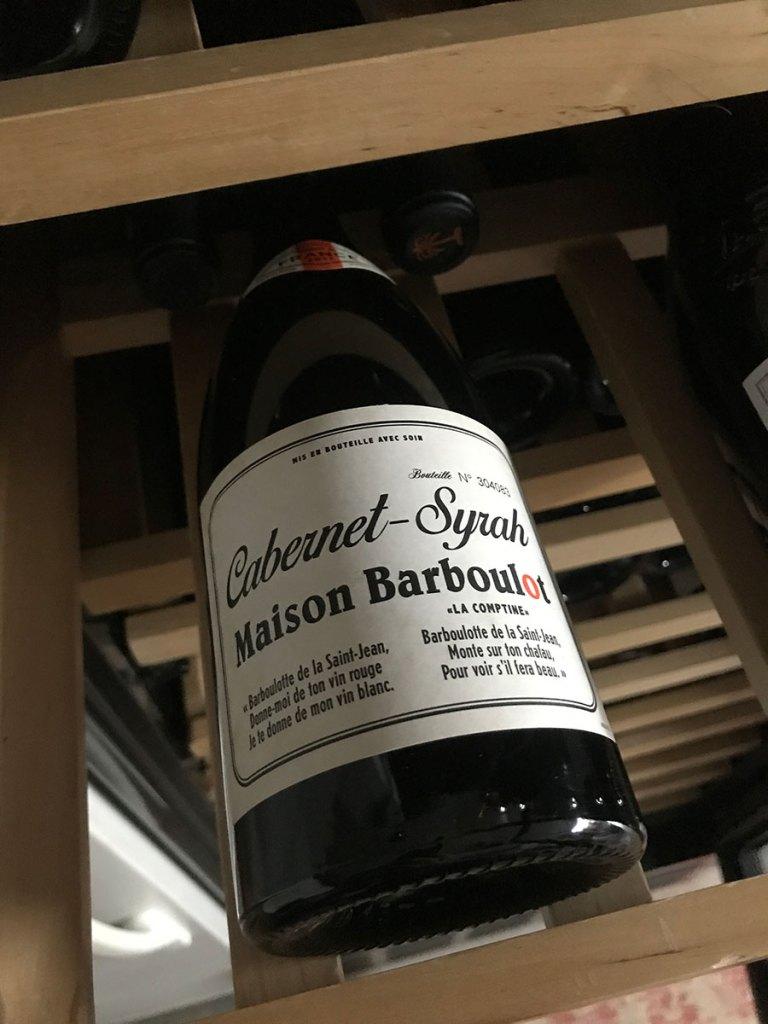 Maison Barboulot / Cabernet-Syrah Blend